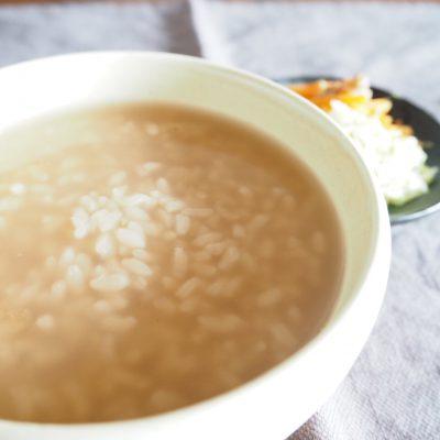 茶粥レシピ